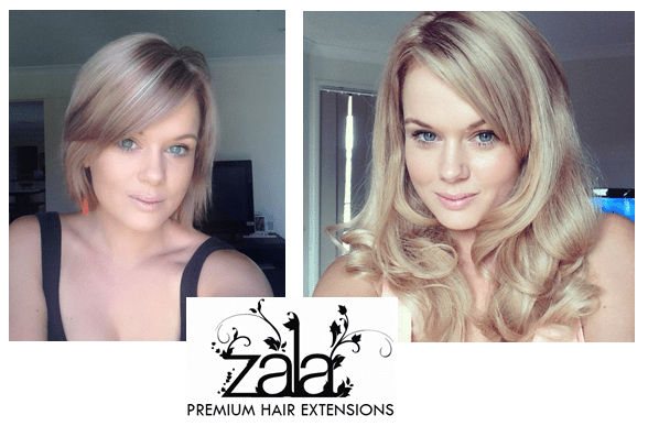Hair Extensions Before And After Short