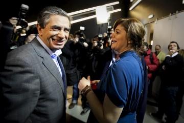 Júlia Pinheiro e Luís Marques