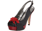 Madden Girl - Hizzie (Black Polka Dot) - Footwear
