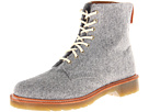 Dr. Martens - Beckett 8-Tie Boot (Grey Felt) - Footwear
