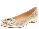 Kate Spade New York - Norella (Gold Glitter Patent) - Footwear