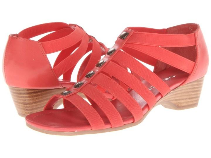 Bella-Vita Paula II (Coral) Women's Sandals