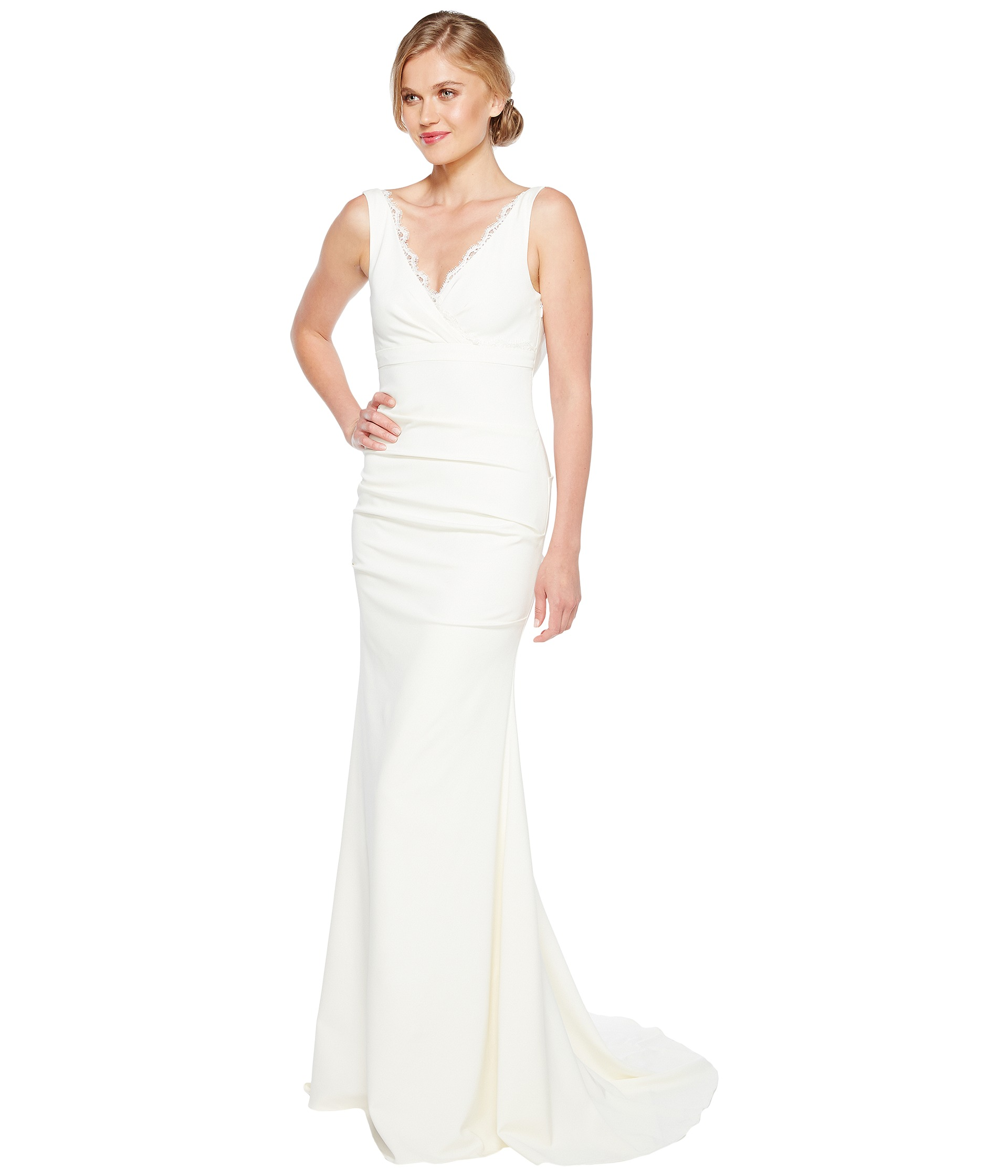 nicole miller wedding dresses nicole miller wedding dresses Nicole Miller Nina Bridal Gown Zappos Com Free Shipping Both Ways
