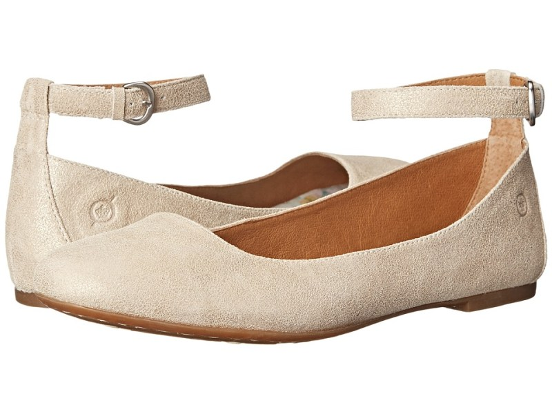 Born - Remy (Gold Metallic Suede) Women's Shoes