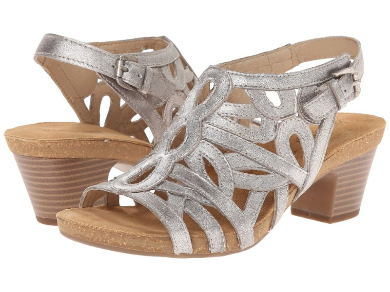 Josef Seibel - Ruth 03 (Cristal Antik Metallic) Women's Dress Sandals