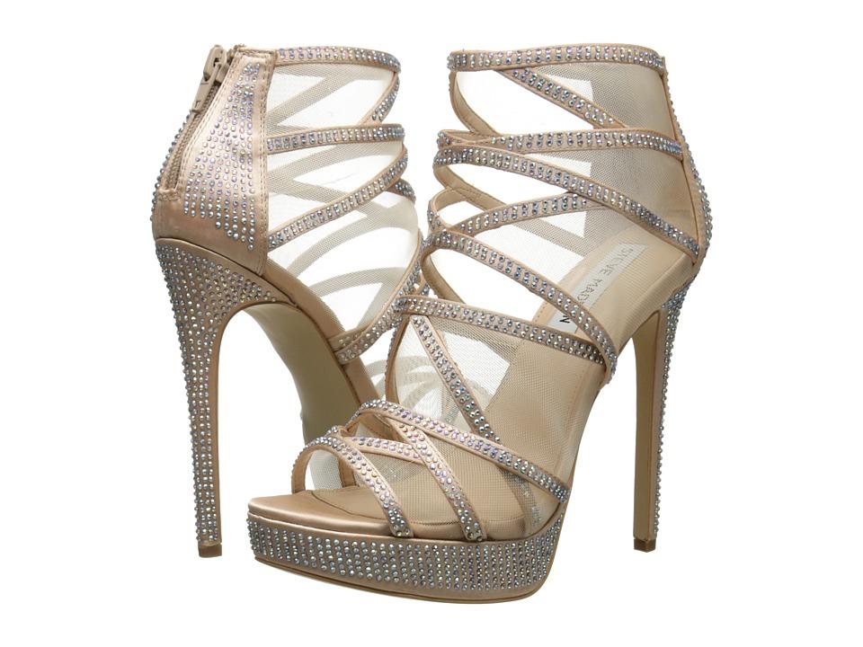 Steve Madden - Dame (Champagne Satin) Women's Shoes