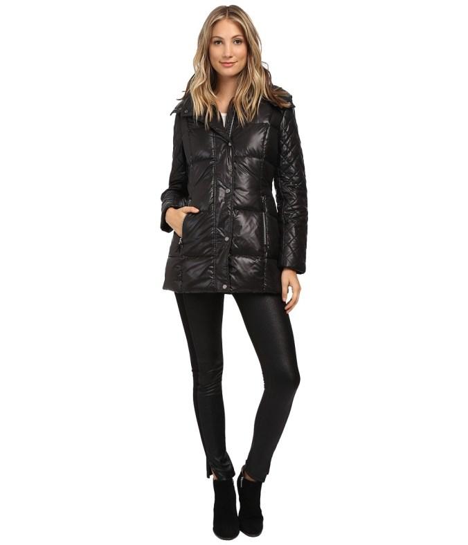 Marc New York by Andrew Marc - Alise 30 Block Puffer (Black) Women's Coat