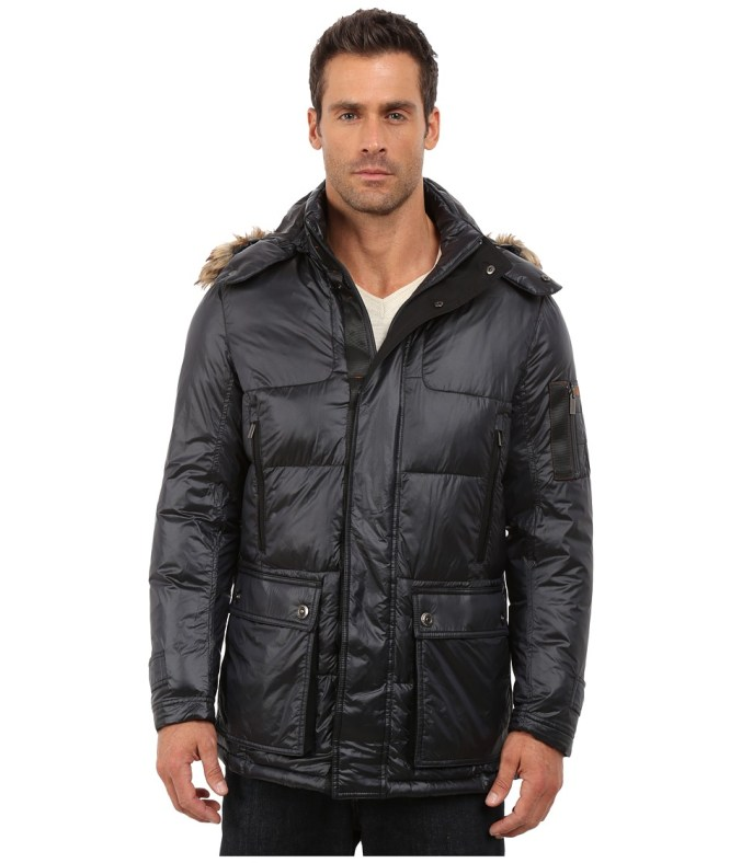 Rainforest - Ridgeville Coat (Black) Men's Coat