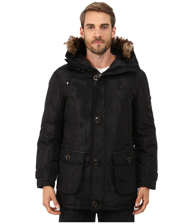 Rainforest - Ranburne Coat (Black) Men's Coat