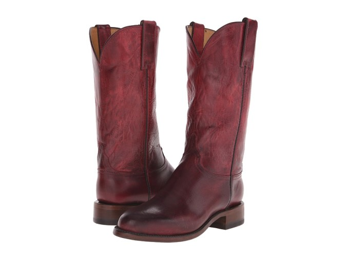 Lucchese - Blair (Red) Cowboy Boots