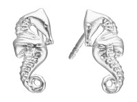 Alex and Ani Post Earrings Seahorse - Zappos.com Free ...