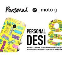Motorola y Personal te invitan a crear tu carcasa para Moto G