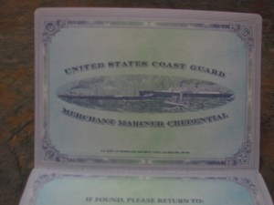 Merchant Mariner Credential
