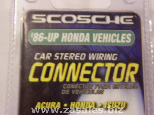 Scosche HA02B 86 up honda Car stereo wiring harness adapter Acura
