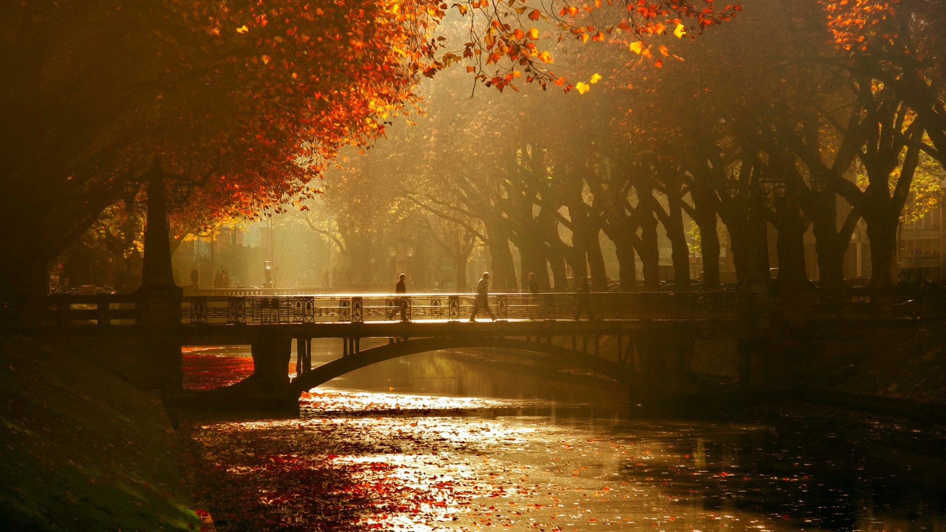 Fall Wallpaper With Dogs K 246 Nigsallee Dusseldorf Germany Wallpapers And Images