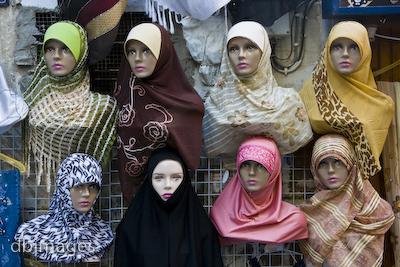 Love in headscarf