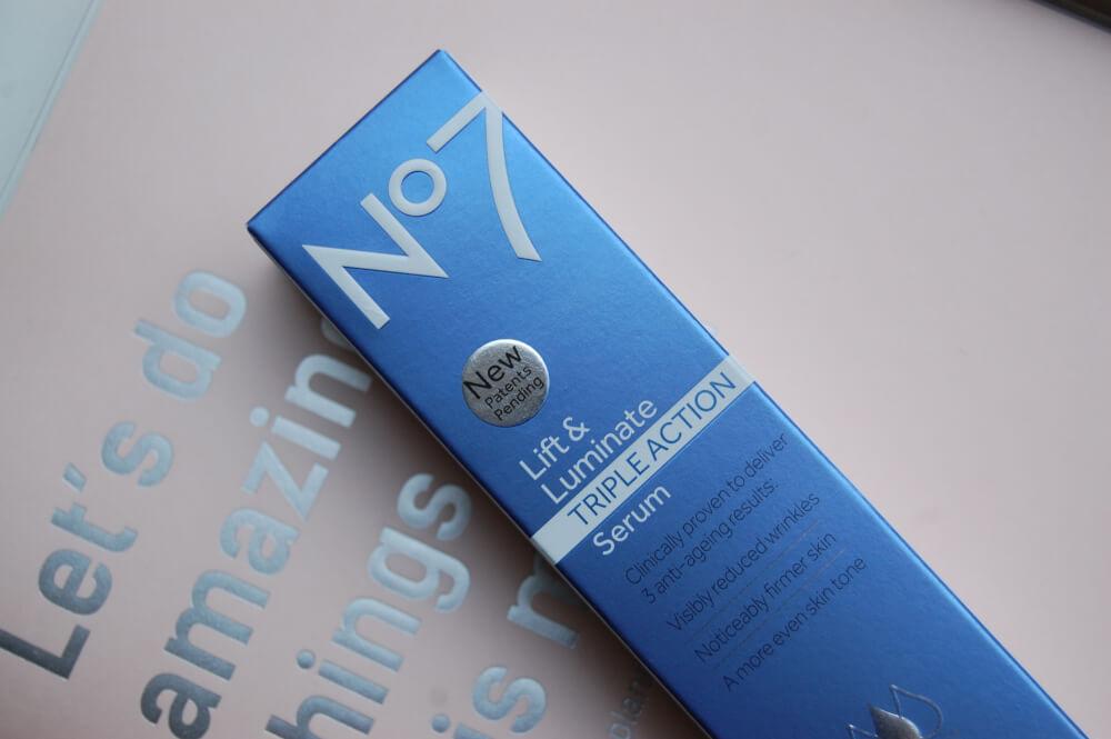 No7 Lift & Luminate Triple Action Serum