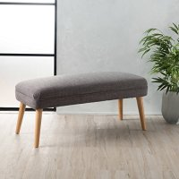 Accent Upholstered Bench for Living Room or Bedroom - Mid ...