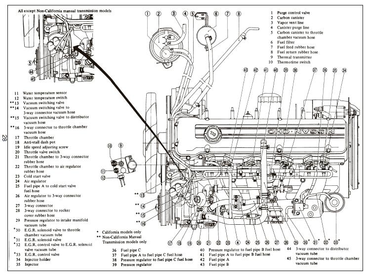 1978 datsun 280z wiring diagram