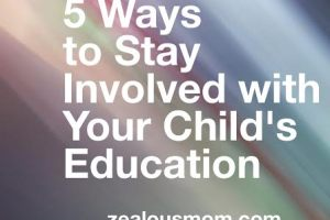 5 ways to stay involved with your child's education