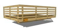 Railing Design Ideas, 3D Deck Railing Catalog
