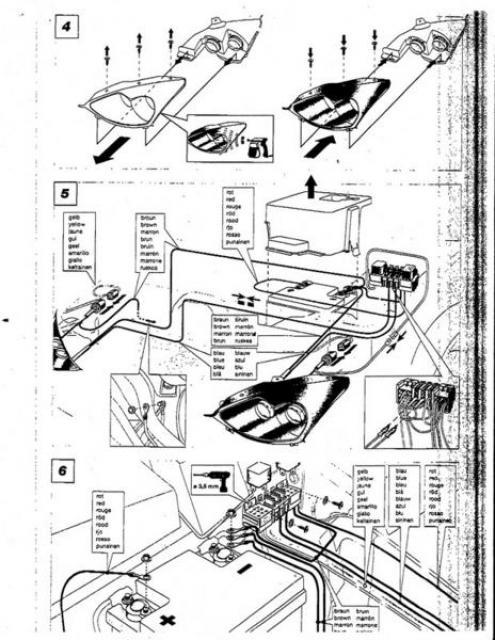 halo projector headlight wiring diagram