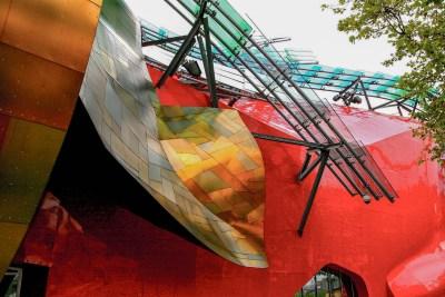 Tommy Pützstück, Experience Music Project in Seattle von Frank Gehry