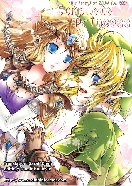 Zelda Manga Set