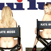 Kate Moss nude for Lui Magazine