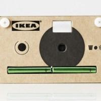 IKEA releases digital camera made of cardboard
