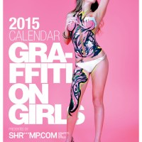2015 Shriiimp Graffiti on Girls Calendar