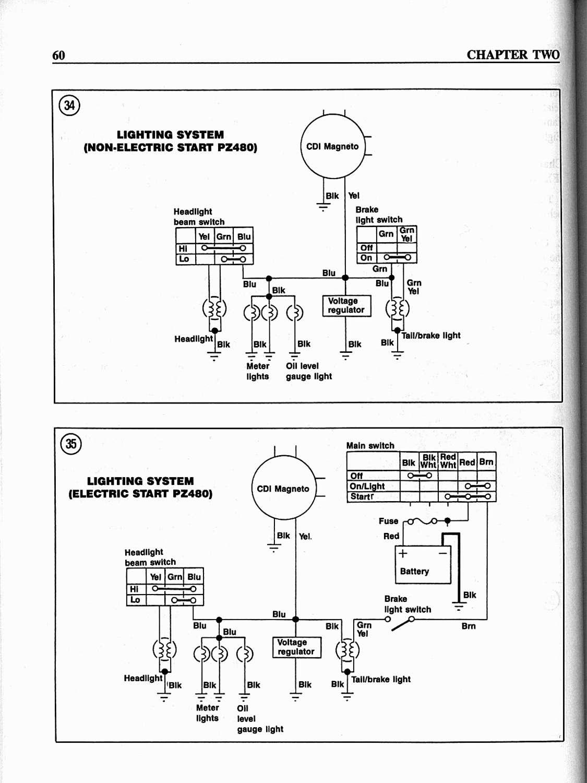 1991 yamaha phazer 2 wiring diagram