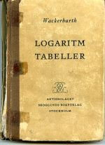 Logarithm Table Book