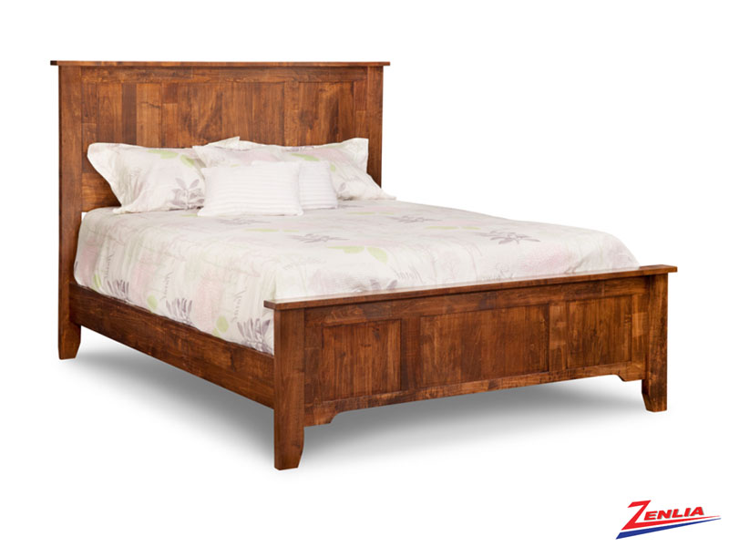 Glengar Bed With 22quot Low Footboard Glengar Solid Wood