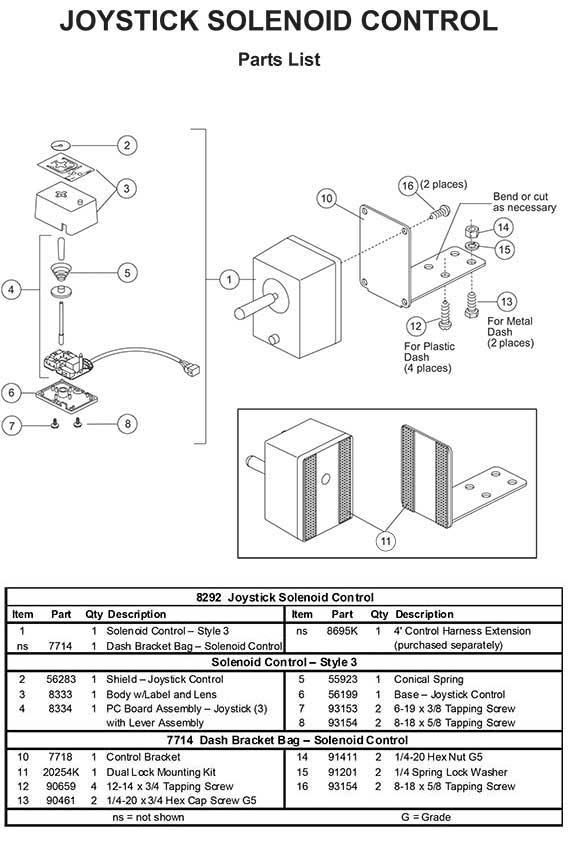 Joystick Wiring Diagram Wiring Diagram