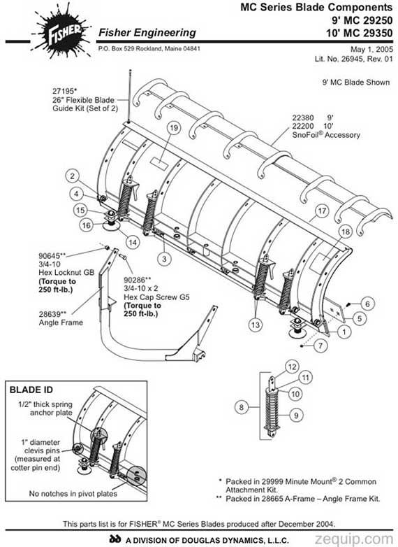 SNOFOIL ASSY - 10ft MC