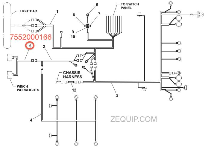 electric dump bed wiring diagram