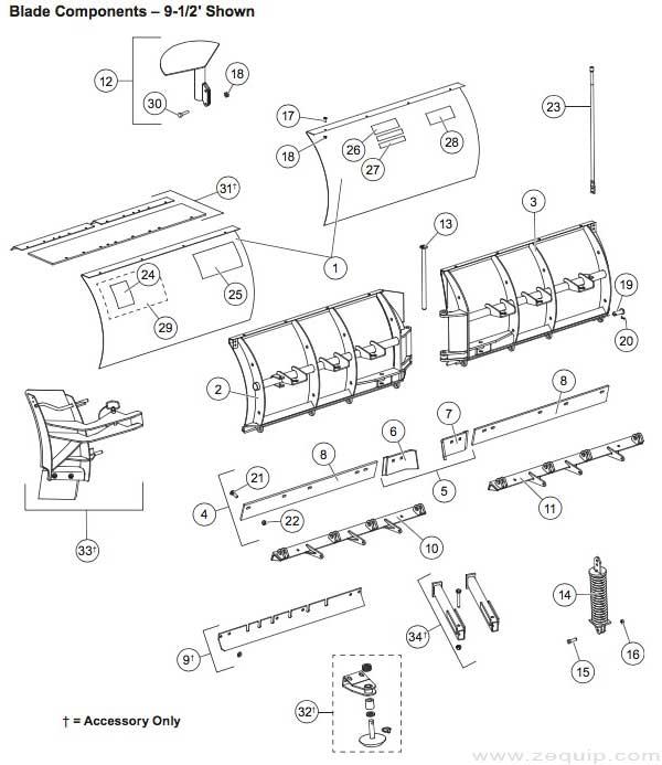 western plow wiring harness repair kit