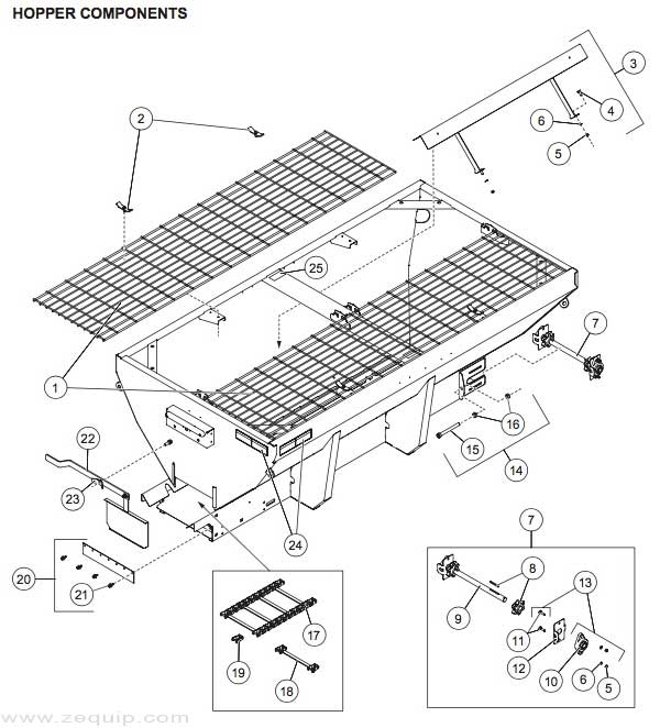 western hopper spreader wiring diagram