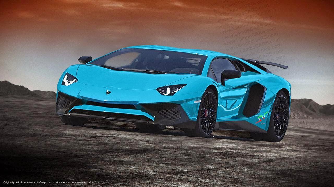 Blue Lamborghini Hd Wallpaper Lamborghini Aventador Sv Rendered In Some Hot Colours