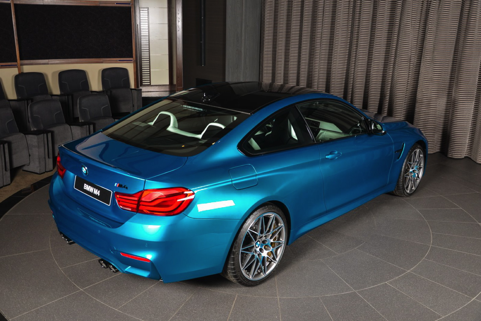 Bmw White Cars Wallpapers Individual Atlantis Blue Bmw M4 Competition Package Is A