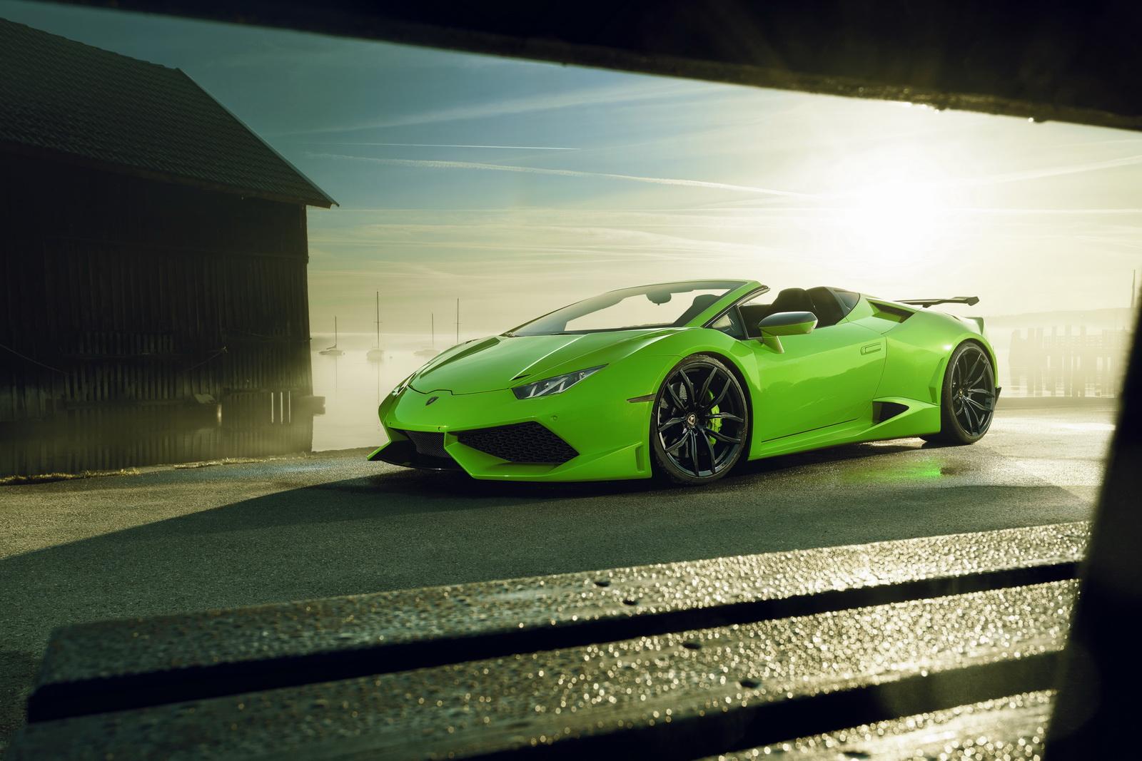 Sports Car Desktop Hd Wallpaper Lamborghini Huracan Spyder Gets The Novitec N Largo Treatment