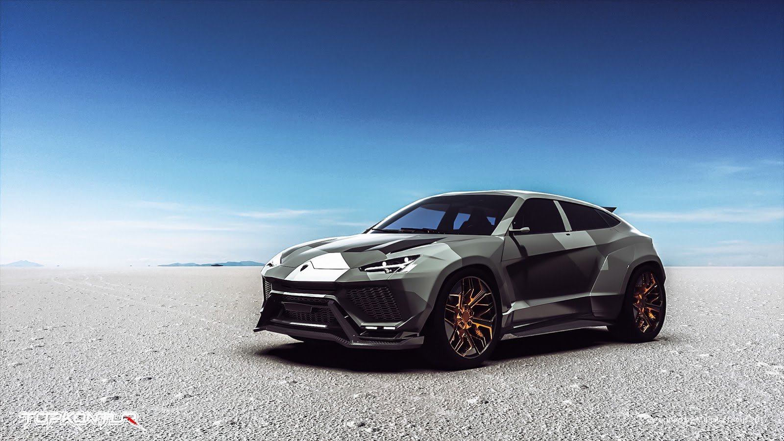 Car Wallpaper 8k Lamborghini Urus Not Even Revealed But Gets Tuning Package