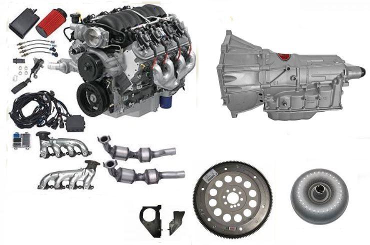 Chevrolet Performance LS3 Erod 62L Engine with 6l80E transmission