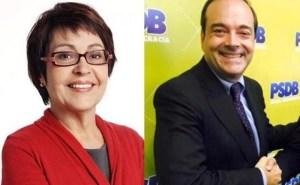 Aspasia Camargo e Carlos Roberto Osório