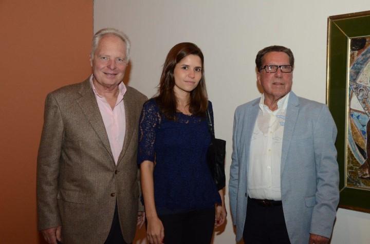 O centro cultural correio recebe a alta sociedade carioca para exposi o re - Louis albert de breuil ...