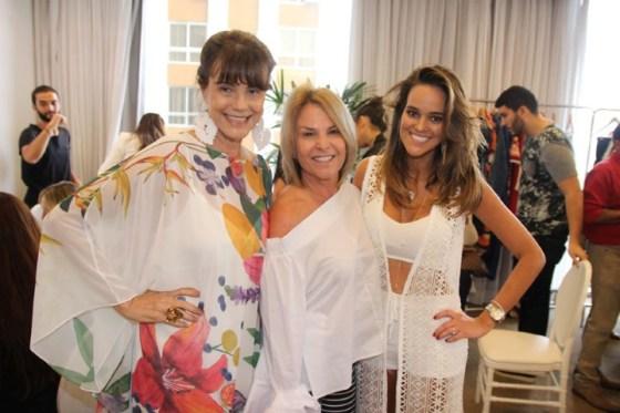 Maly Peixoto, Silvia Werther e Sabine Arias