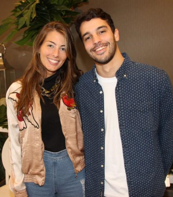 Luiza Aguiar e Paulo Amaral