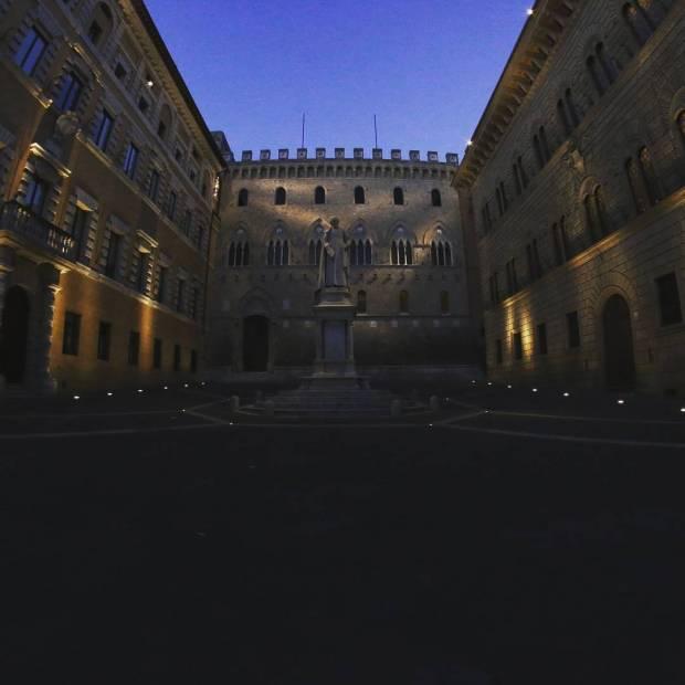 Sede storica banca mps siena