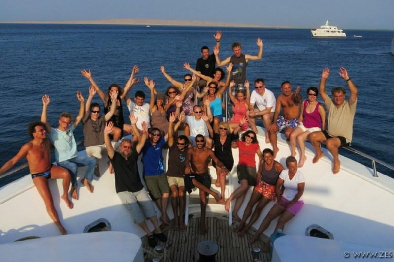 EXOCET - Le bateau de Diving Attitude en Mer Rouge